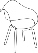 HOUSTE_Monolines_Dining_Chair_Dark_Grey.