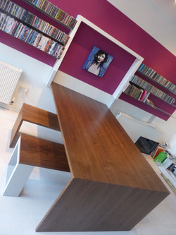 Bespoke Dining table and TV console