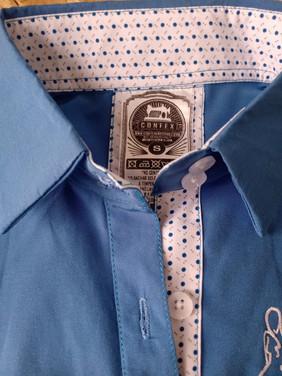 Camisa manga larga con apliques