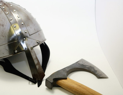 Armor and Viking axe