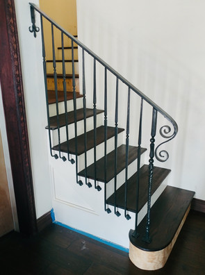 Simple Forged Railing
