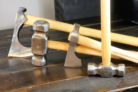 Hammers and axes