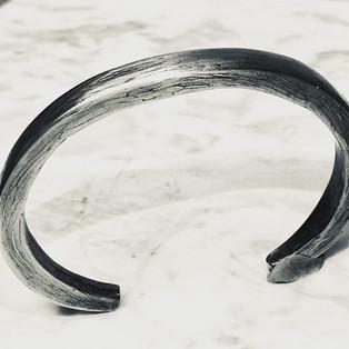 Cable-Damascus bracelet