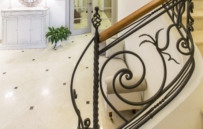 Traditional Forged Railing