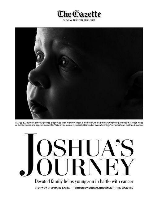Joshua's Journey: Page 1