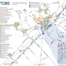 Mapa de Visitantes de San Marcos