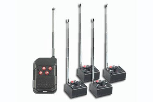 Systéme de tir 4 voies + télécommande