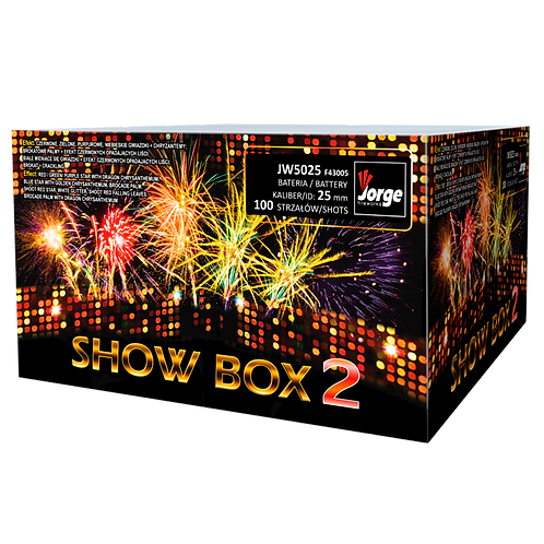 JW5025 - SHOW BOX 2