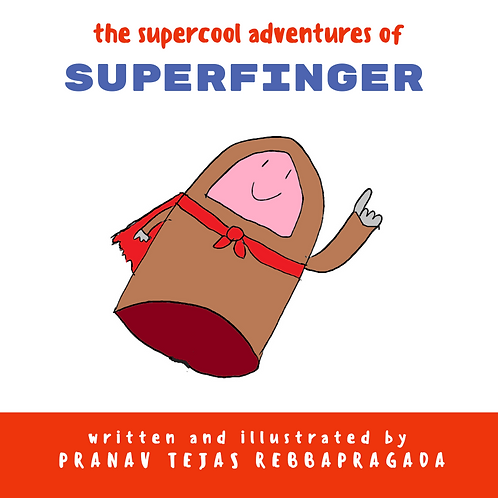 The Supercool Adventures Of Superfinger