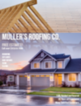 Roofing Flyer from Service Marketing Now