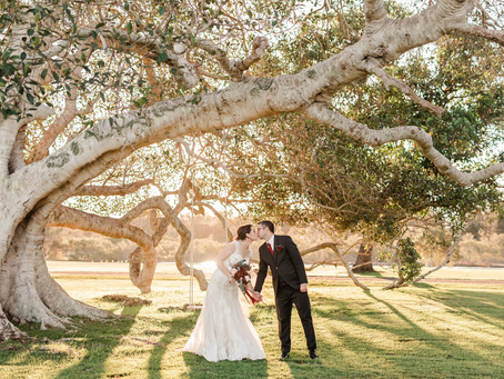 REAL WEDDING - Rebecca & Alex's Riverside Ranch Wedding
