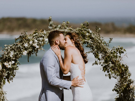 REAL WEDDING - Ali & Chris's Yamba Surf Club Wedding