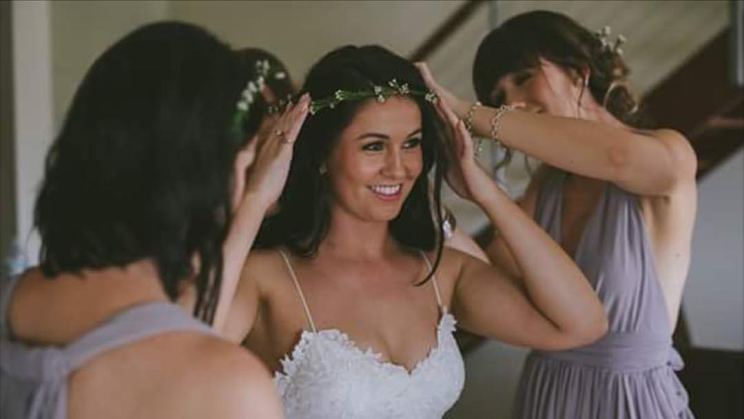 Zig Zag Hair - Yamba Weddings
