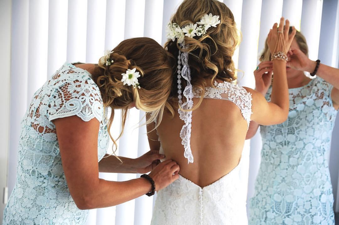 Zig Zag Hair - Yamba Weddings