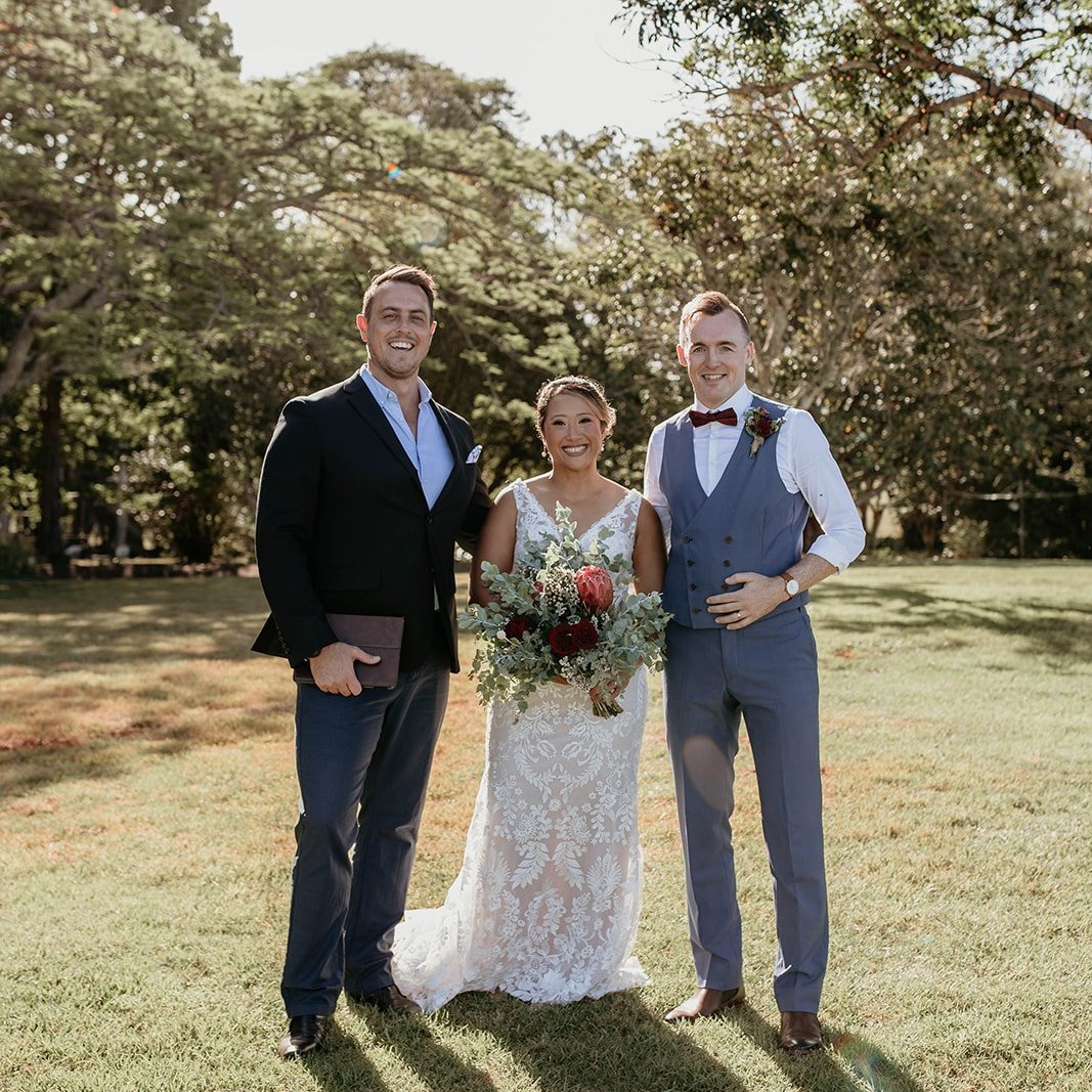The Surfing Celebrant | Yamba Wedding Celebrant