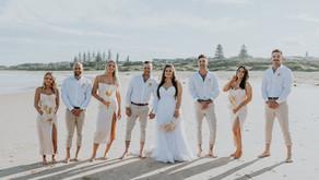REAL WEDDING - Shavarn & Jacob's Yamba Golf Club Wedding