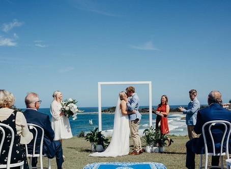 REAL WEDDING - Jemima & Sean's Yamba Wedding
