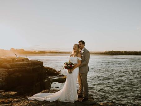REAL WEDDING - Kim and Bryce's Yamba Wedding