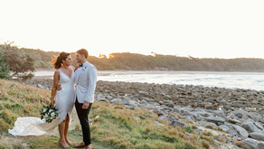 REAL WEDDING - Casey and Ben's Angourie Resort Wedding
