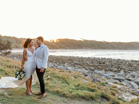 REAL WEDDING - Casey and Ben's Angourie Resort Wedding