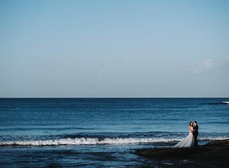 REAL WEDDING  - Matt & Olga's Yamba Elopement