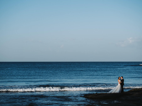 REAL WEDDING  - Matt & Olga's Yamba Elopement