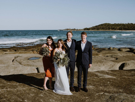 REAL WEDDING - Maddie & Jakes Greenpoint Elopement
