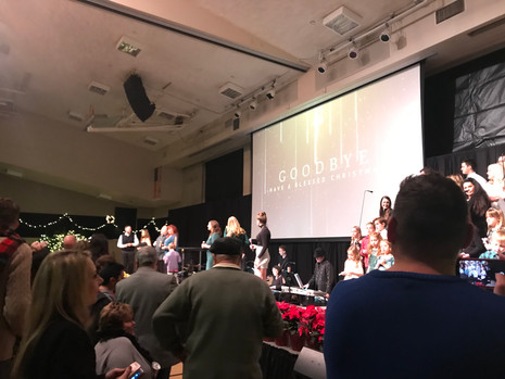 Christmas Eve Musical Service at Salem Lutheran Church in Orange
