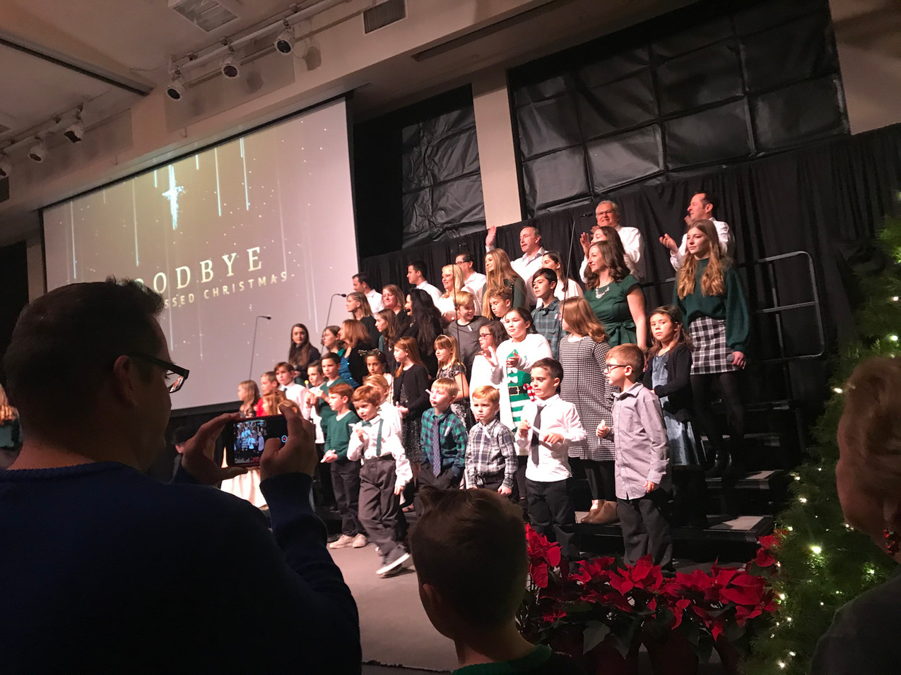 They loved seeing the kids sing!