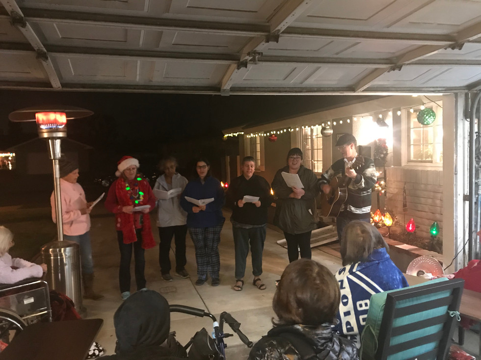 Christmas Caroler's from Anaheim United Methodist Church