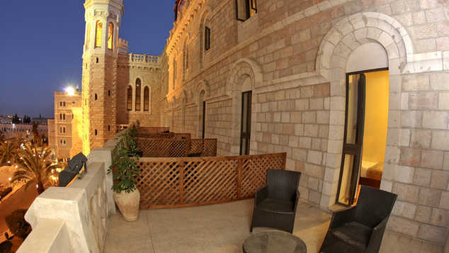 mount of olives room with terrace