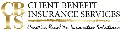Logo: CBIS, Client Benefit Insurance Services. Creative Benefits, Innovative Solutions