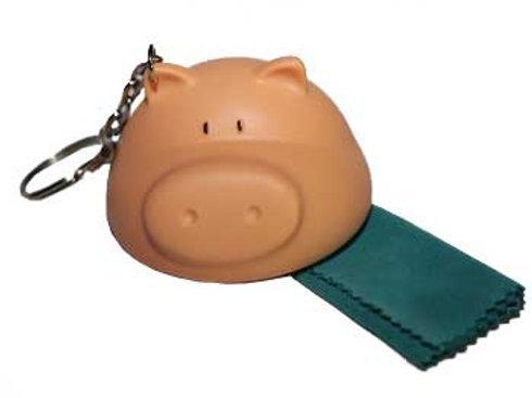 Porky Pig Cloth & Key Ring
