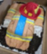 Custom Firemans Cake