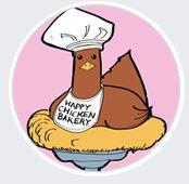 Happy Chicken Mascot - Henrietta