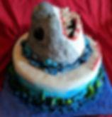 Carved Shark Cake