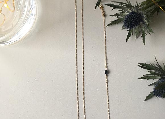 Ras de cou et bracelet perle Marine  Avenue Suzanne