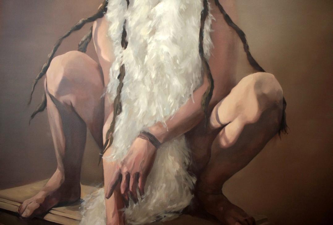 BOA, oil on canvas, 2020