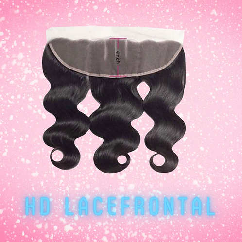 13X4 HD Lace Frontals