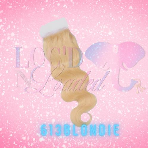 613 Blondie Lace Closures 4x4
