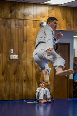 Tim Schmeisser flying kick May 2017 Testing