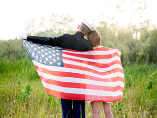 Military Couple Session // Yuma, AZ