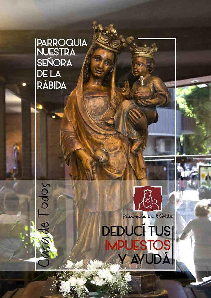 BROCHURE DONACIONES IMPUESTOS LA RABIDA_