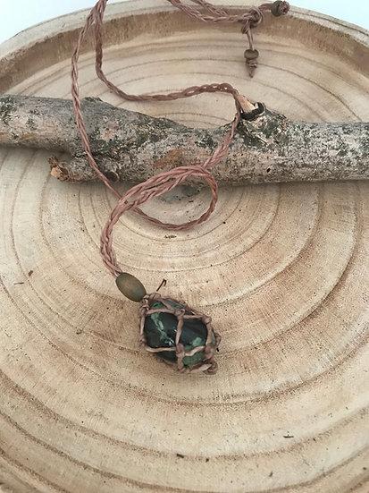 Stone Carrier -Rainforest Jasper