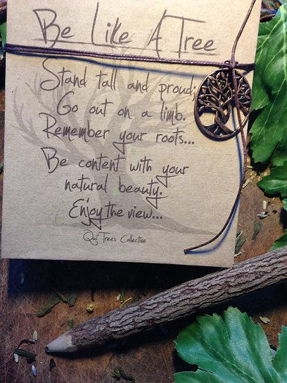 'Be Like A Tree' Notepads