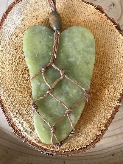 Green Healing Heart