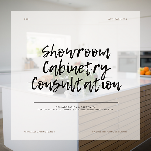 Showroom Cabinetry Consultation with Designs