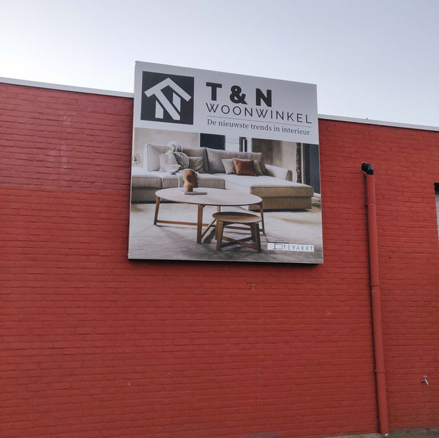 Outdoor spanframe zonder rand
