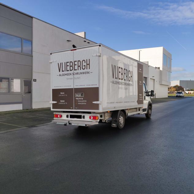 large bestickering bestelwagen