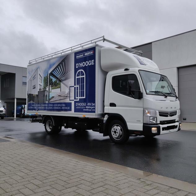 full wrap vrachtwagen
